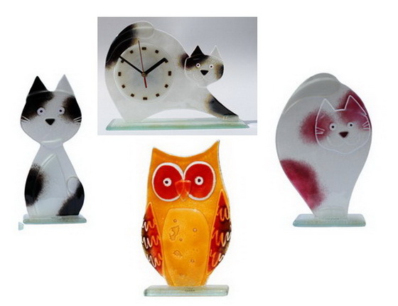 Handmade Fused Glass Collection