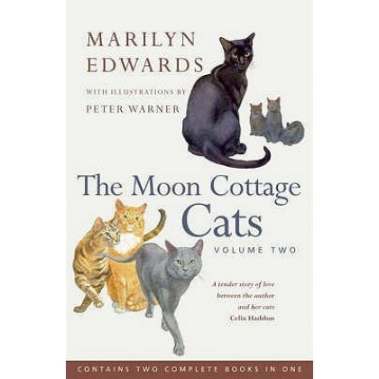 The Moon Cottage Cats - Volume Two by Marilyn Edwards - Lightly Used Paperback - Signed by Marilyn Edwards specially for customers of Erin House.