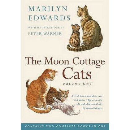 The Moon Cottage Cats - Volume One by Marilyn Edwards - Lightly Used Paperback