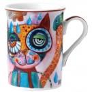 Contemporary Cat Mug