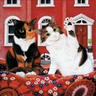 Daisie and Millie - Greeting Card