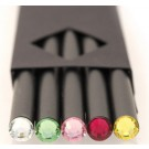 Pack of Five Swarovski Crystal Pencils by Swarowski Crystal Collection