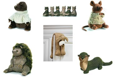 Dora Designs Animal Door Stops and More