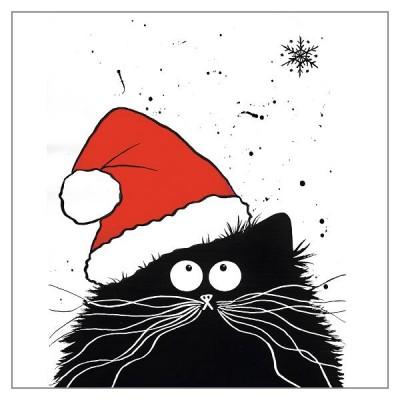 Feline Festive - Greeting Card
