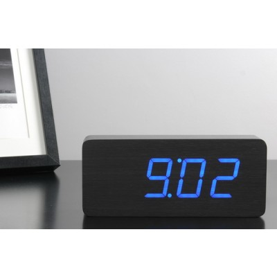 Click Clock Slab – Time at the click of your fingers