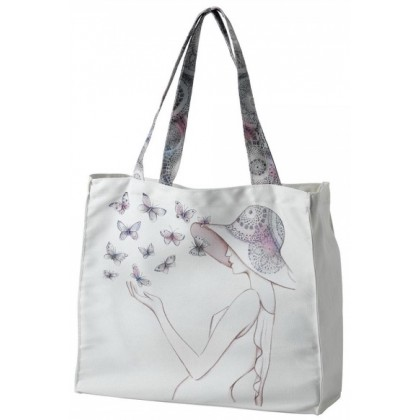 Style & Gracie Butterflies Tote Bag