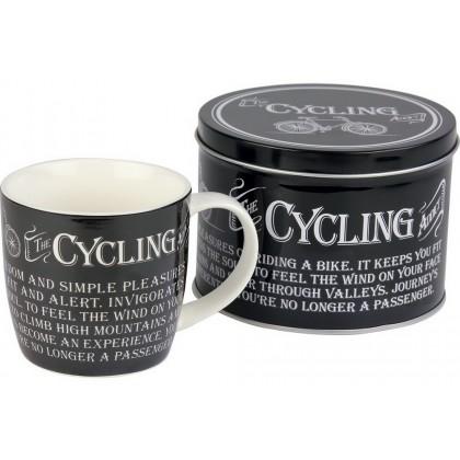 Cycling - Mug in a Tin