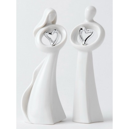 Love and Only You - Set of two figurines - Ideal for Cake Toppers