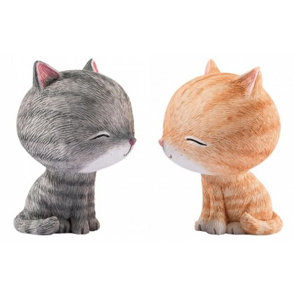 Friendship Kiss - Pair of Figurines