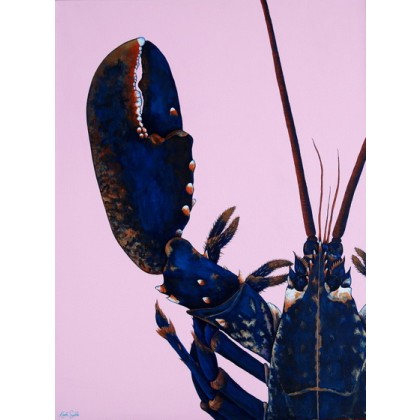 Blue Lobster - Pink