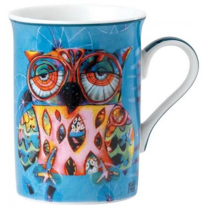 Contemporary Owl Mug