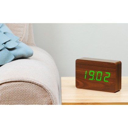 Click Clock Brick – Time at the click of your fingers