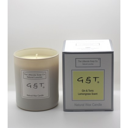 Handmade Natural Soy G & T Scented Candle