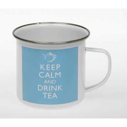 Keep Calm and Drink Tea - Tin Mug