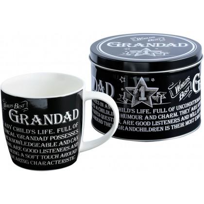 Grandad - Mug in a Tin