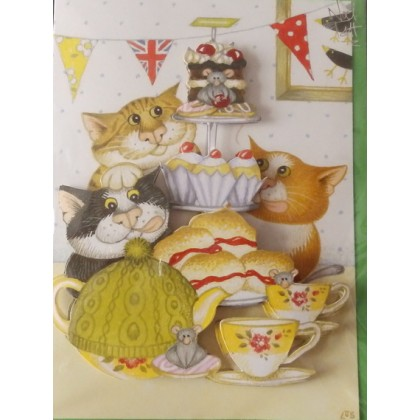 Greeting Card - Time for Tea