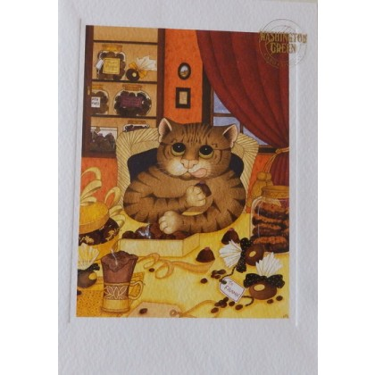 Greeting Card - Death By Chocolate