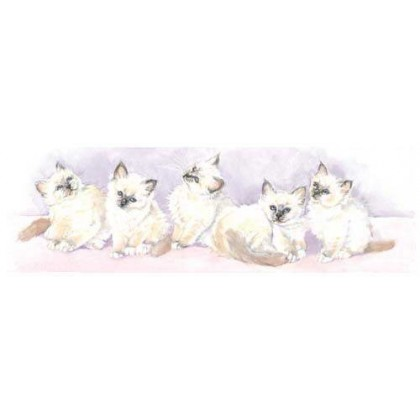 5 Kittens by Kay Young