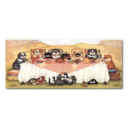 Lunch Alfresco by Linda Jane Smith