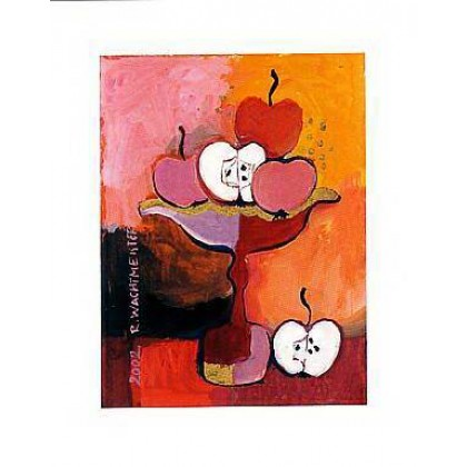 Apples in Red by Rosina Wachtmeister