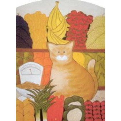 The Greengrocer's Cat, Spud by Sue Hemming