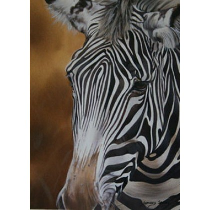 Out....Zebra by Lyndsey Selley