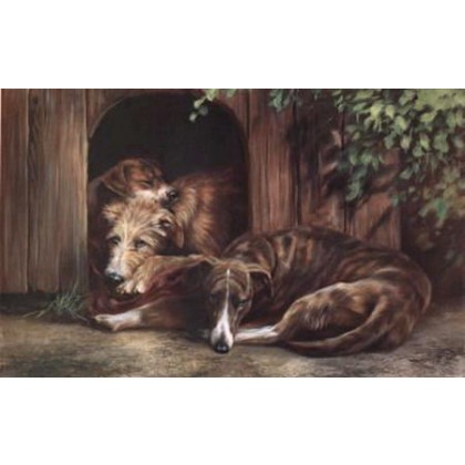 Dog Tired by Mick Cawston