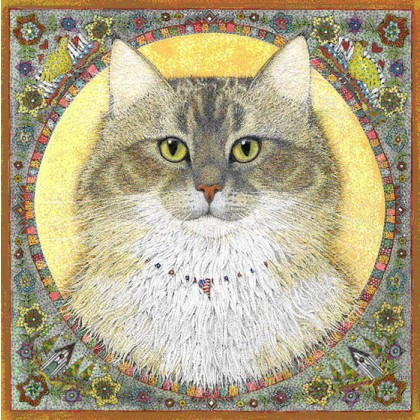 Maine Coon by Margaret Hobson