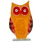 Large Owl - Oliver - Fused Glass Figure