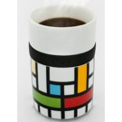 Lattice Design Ring Mug