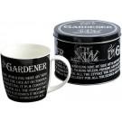 Gardener - Mug in a Tin